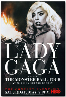 Lady Gaga Poster – HBO Special - Poster available for sale at ConcertPoster.Org full link below