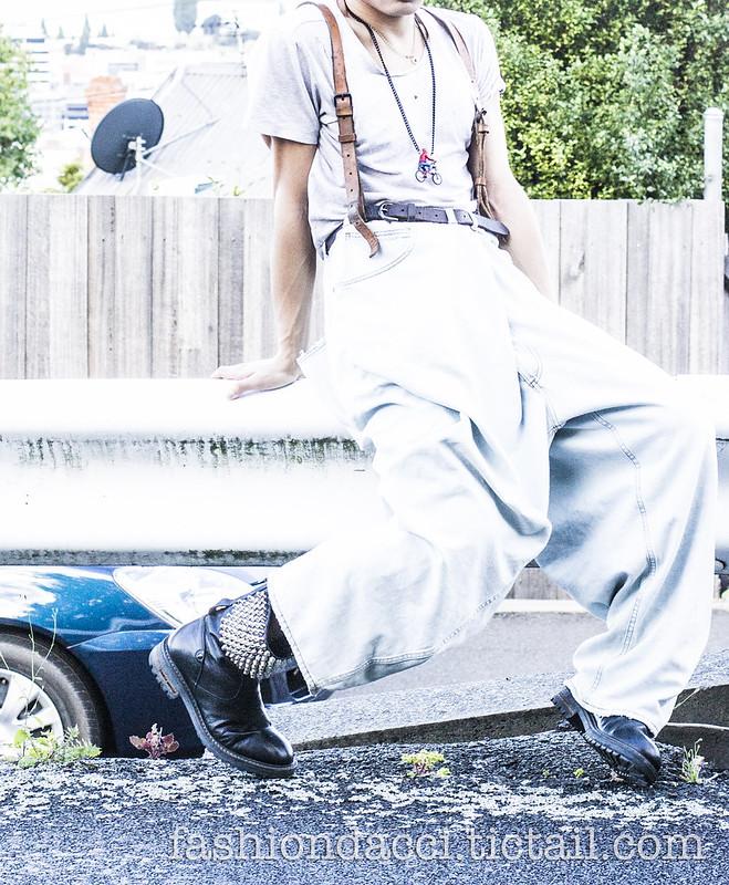 blog #2221111-11 vintage leather suspender 22nd DEC 2012副本副本