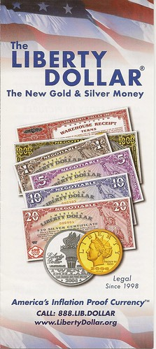 Liberty Dollar brochure 1