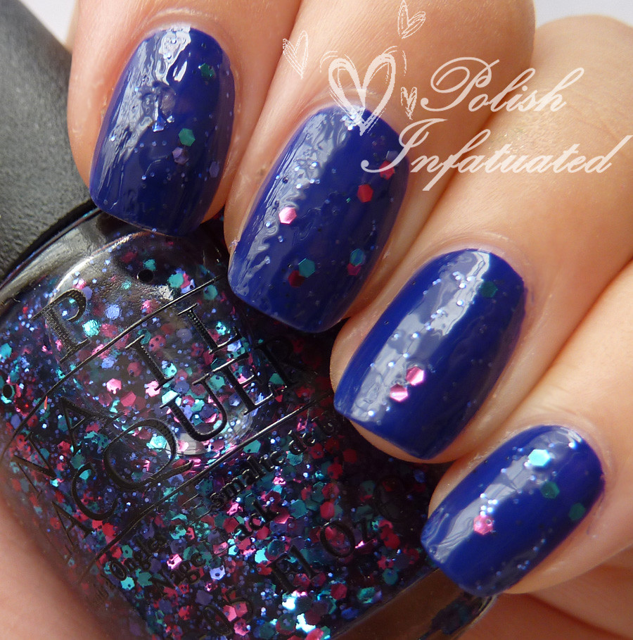 polka dot com layered over opi eurso euro1