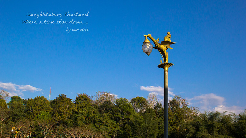 มุมสวยๆ โคมไฟ - สังขละบุรี