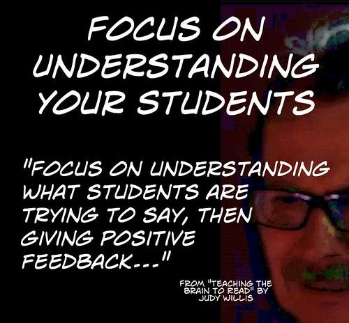 "Educational Postcard: ""Focus On Understanding Your Student"