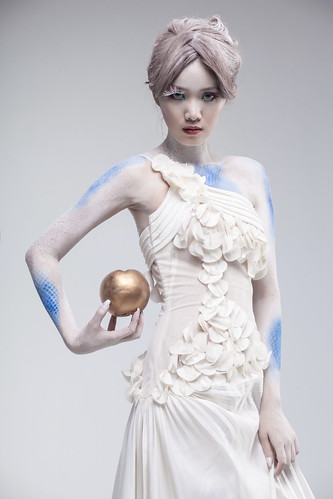 [フリー画像素材] 人物, 女性 - アジア, 雪の女王 ID:201212300000