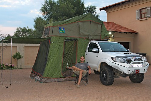 Our new rooftop tent!