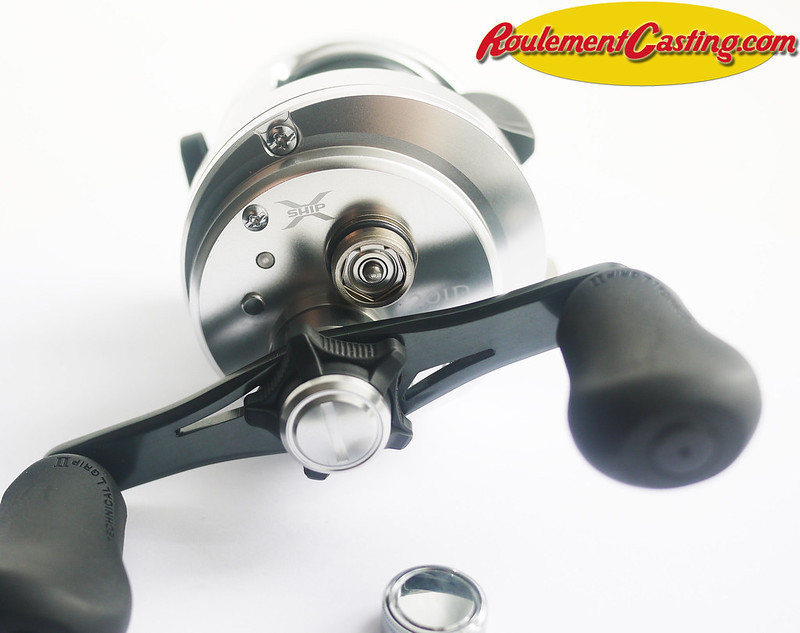 Shimano Calcutta 201D Orange seals BocaBearings 13