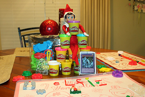 Elf-with-Playdough