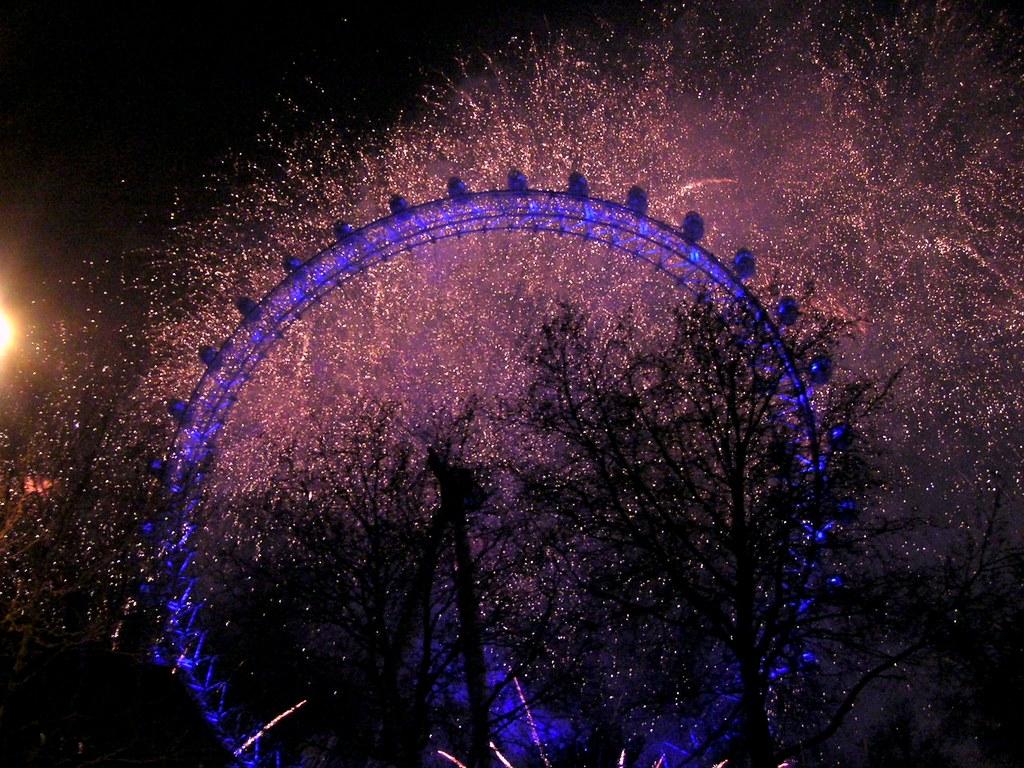 Millennium wheel in London