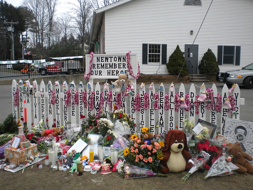 A Photographic Memoir of the Newtown Memorials