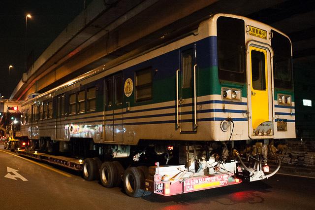 久留里線 キハ38 4 ミャンマー国鉄譲渡陸送