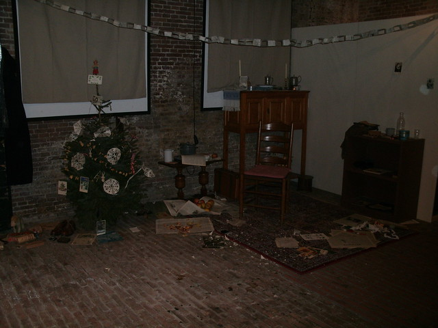 Christmas in the Army museum Delft