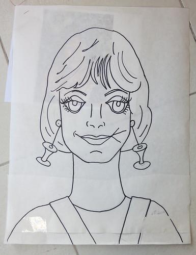 Lady #27 - Robin