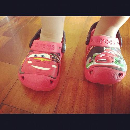 Ashton's crocs. Bought it from the...