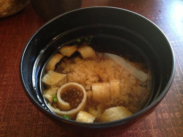 Miso soup - Kimukatsu