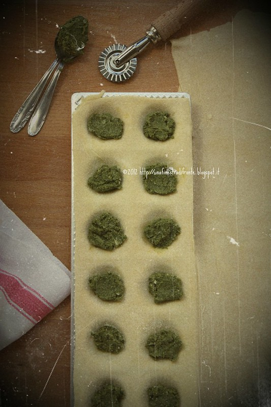 Ravioli ricotta e spinaci - step by step (3)