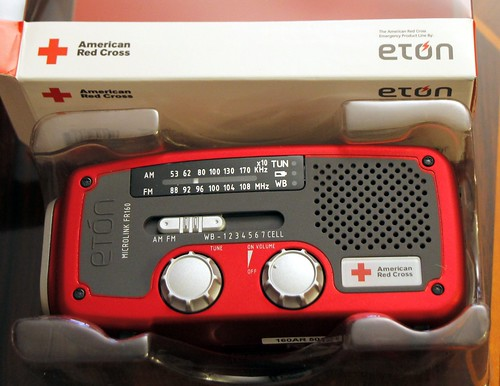Eton American Red Cross Microlink FR160