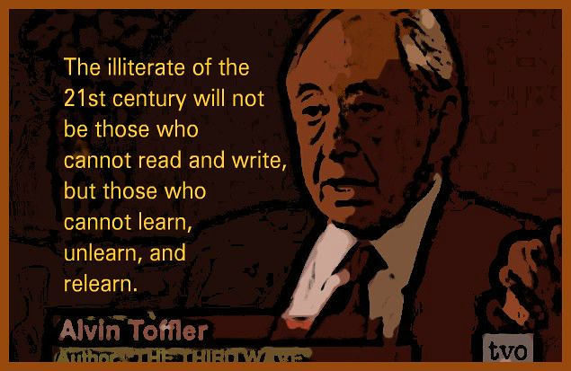 Header of Alvin Toffler