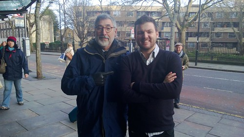 Oh. My. Actual. God. I just met John Landis.