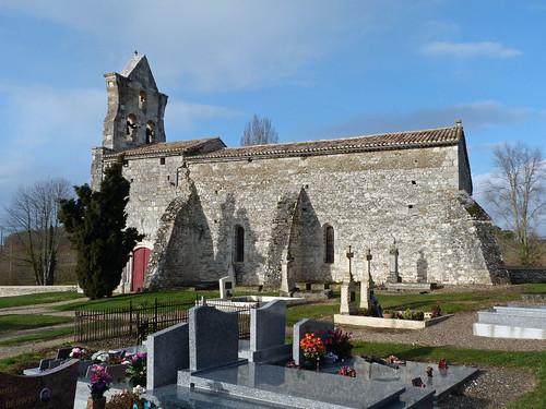 Les Leves et Thoumeyragues - Eglise Notre Dame de Thoumeyragues  03