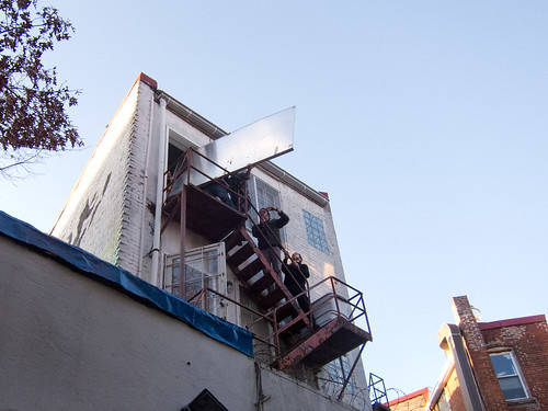 Moving blackboard