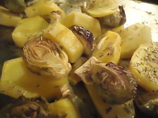 Prokelj i krompir sa ruzmarinom