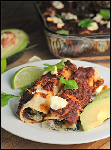 zucchinigoatcheeseenchiladas2