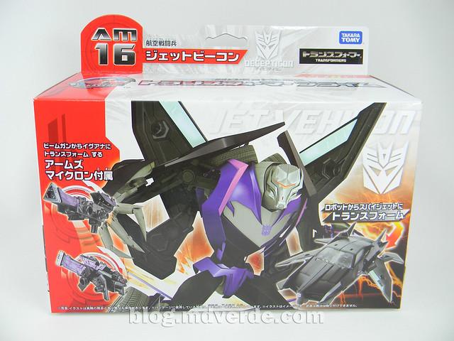 Transformers Jet Vehicon Deluxe - Prime Arms Micron - caja