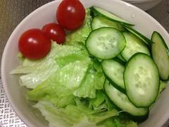 朝食サラダ 2012/12/29