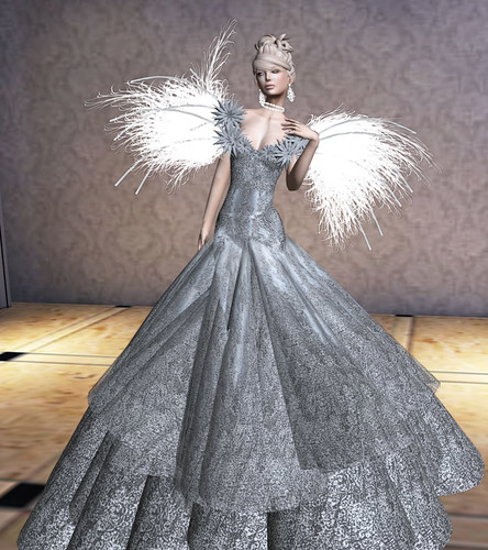 Sascha Embrace Silver by Miss Laylah Lecker