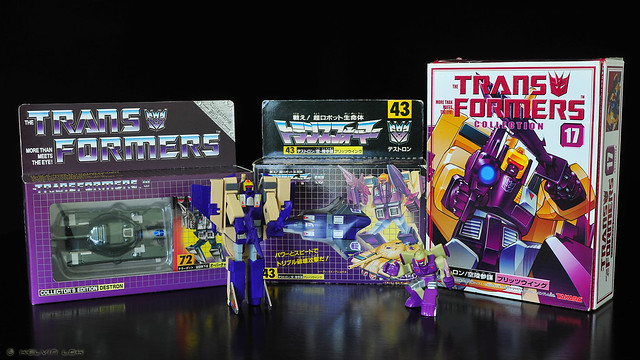 My G1 Blitzwing collection