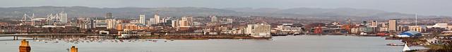 Cardiff from Penarth