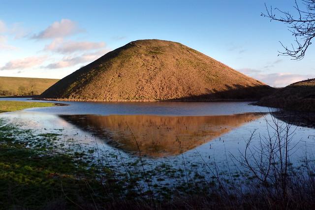 Silbury Hill reflection 1