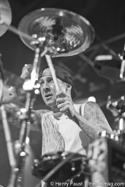 Travis Barker @ Fort Mason, SF, 12/28/2012