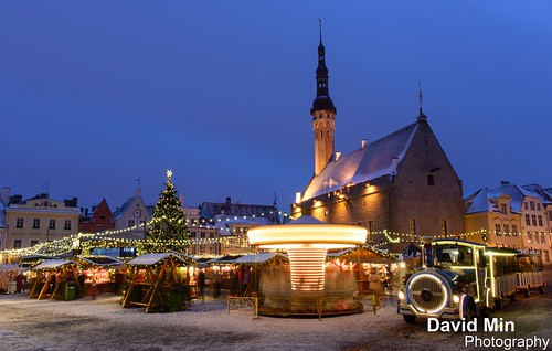 Tallinn, Estonia - Happy New Year by GlobeTrotter 2000
