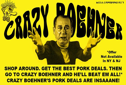 CRAZY BOEHNER by Colonel Flick/WilliamBanzai7