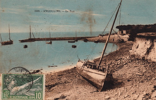 3568. - Angoulins. - Le Port (c.1924) by pellethepoet