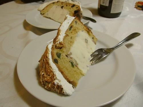 Baked Alaska de Panettone
