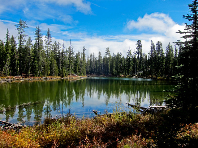 Trail Running - Sky Lakes Wilderness