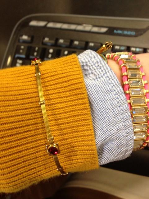 Bracelets and Cardi