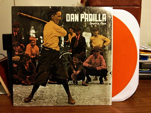 Dan Padilla - Sports Fan LP - Orange Vinyl by Tim PopKid