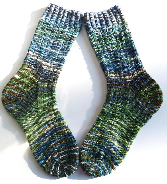 FatCatKnits sock blank socks III