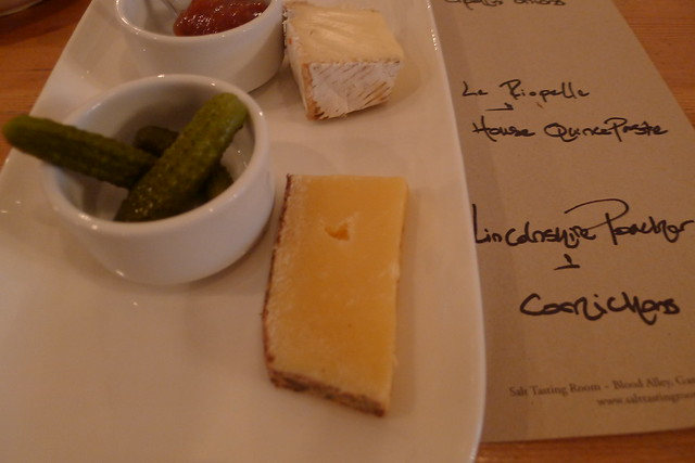 lincholnshire poacher & pickled cornichons