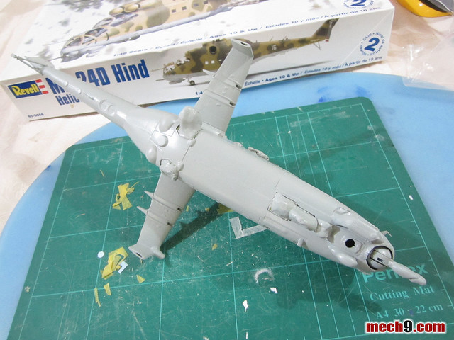 Revell 1/48 Mil-24 Hind-D
