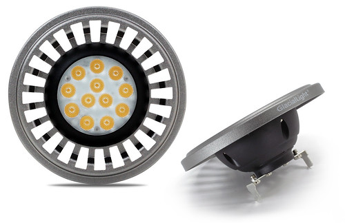 GlacialLight представляет новый светодиодный светильник Vega GL-AR111-V2-12 мощностью 12.5Вт