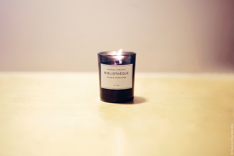 Candle from Byredo by Carin Olsson (Paris in Four Months)