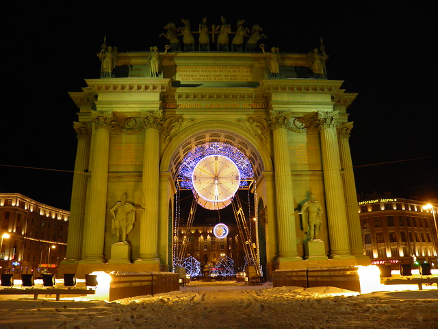 Нарвские ворота // Narva Triumphal Arch