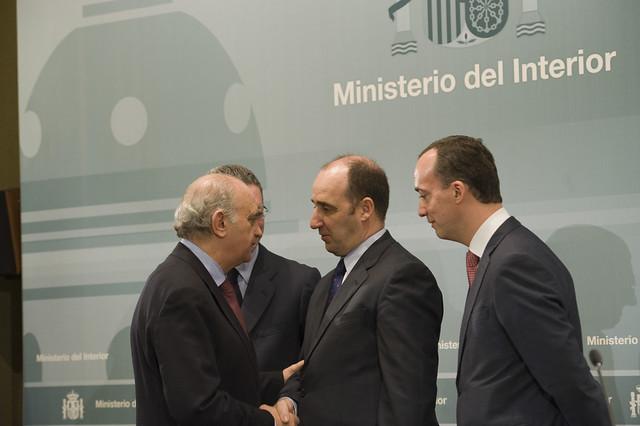 El ministro del interior jorge fern ndez d az ha presidi for Nuevo ministro del interior