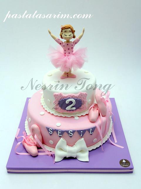 balerina cake - sesil