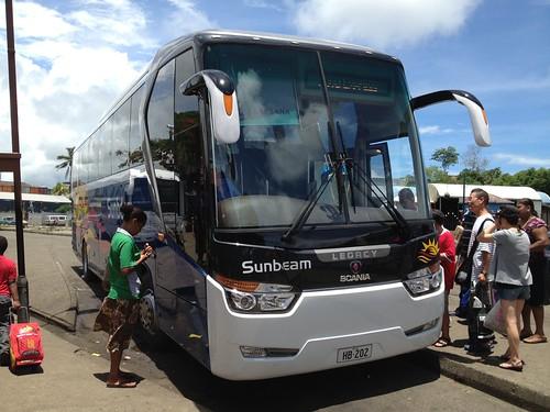 HB202 Sunbeam Scania front