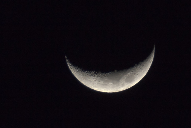 Waxing Crescent - Tue 15 Jan, 2013
