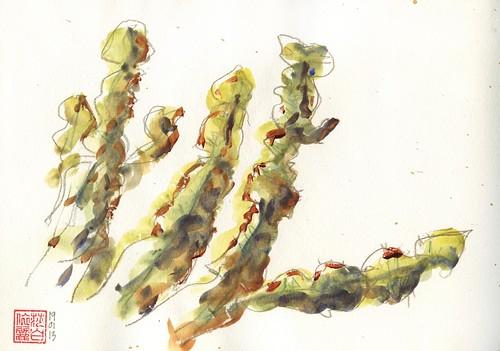130119 Sketchcrawl 38_2 Botanic Gardens
